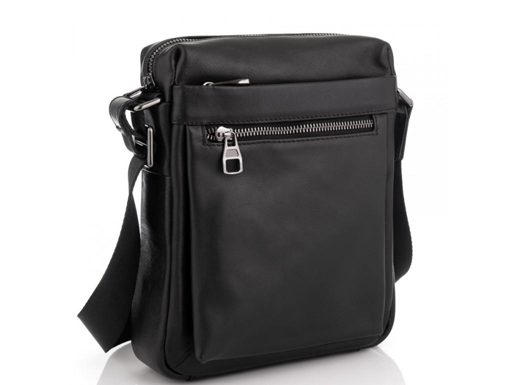 Мужская сумка через плечо из натуральной кожи Tiding Bag 6026A - Royalbag Фото 1