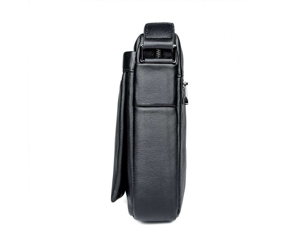 Мужская сумка через плечо из натуральной кожи Tiding Bag 6026A