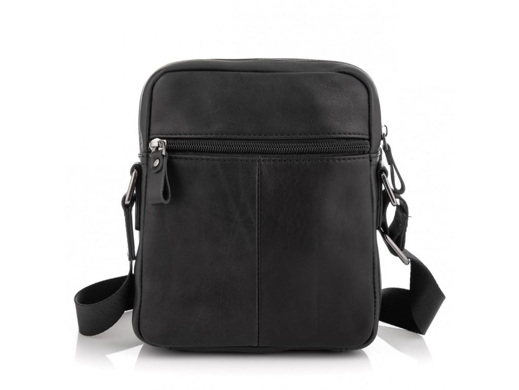 Мужская сумка через плечо черная Tiding Bag 6027A - Royalbag