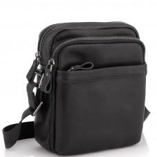 Мужская сумка через плечо черная Tiding Bag 6027A - Royalbag Фото 2
