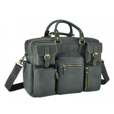 Серая мужская сумка Tiding Bag 7028RA - Royalbag