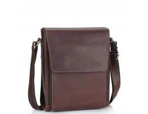 Мужская сумка через плечо из натуральной кожи Tiding Bag 7055B-2 - Royalbag