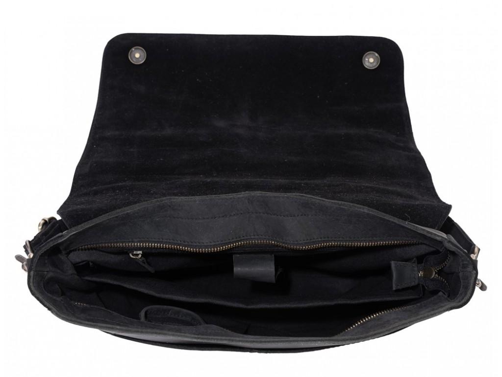 Мужской кожаный мессенджер через плечо для ноутбука и документов Tiding Bag 7108A-1 - Royalbag