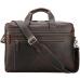 Вместительная мужская кожаная сумка с отделом для ноутбука 17 Tiding Bag 7319R - Royalbag Фото 11