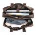 Вместительная мужская кожаная сумка с отделом для ноутбука 17 Tiding Bag 7319R - Royalbag Фото 4