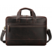Вместительная мужская кожаная сумка с отделом для ноутбука 17 Tiding Bag 7319R - Royalbag Фото 5
