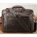 Мужская кожаная деловая сумка для поездок  Tiding Bag 7367R - Royalbag