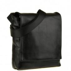 Мессенджер через плечо мужской кожаный Blamont Bn027A-1 - Royalbag Фото 2