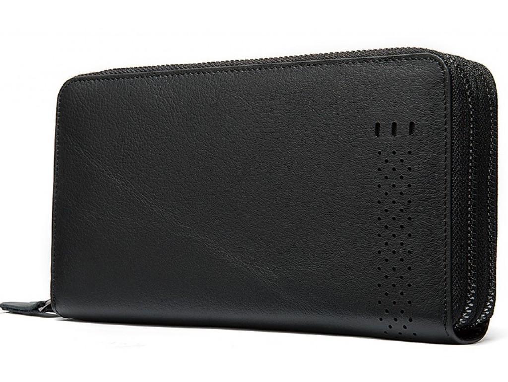 Черный мужской клатч Tiding Bag 8025A - Royalbag