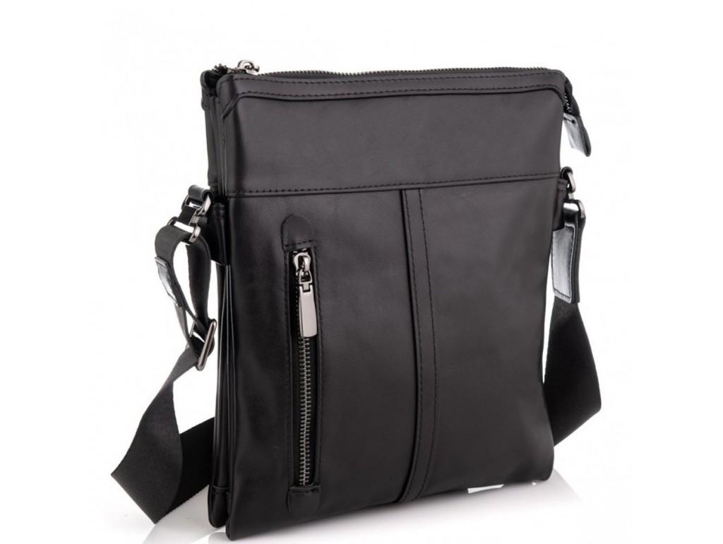 Сумка через плечо мужская кожаная Tiding Bag 80261A - Royalbag Фото 1