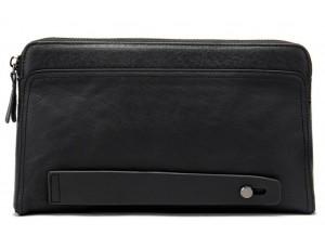 Клатч черный TidingBag 8037A - Royalbag