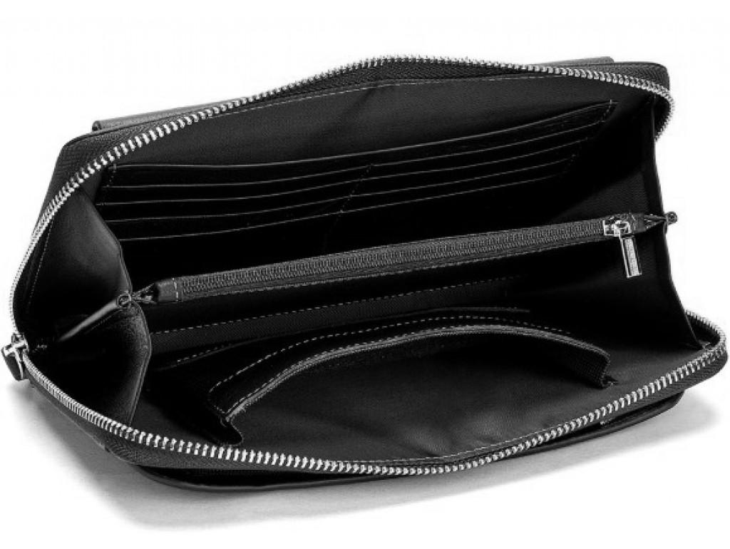 Клатч черный мужской Tiding Bag 8039A - Royalbag
