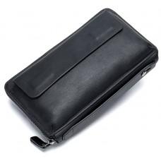 Клатч черный мужской Tiding Bag 8039A - Royalbag Фото 2