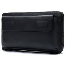 Клатч чорний чоловічий Tiding Bag 8039A - Royalbag