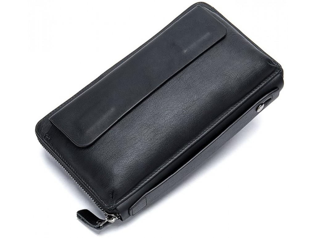 Клатч черный мужской Tiding Bag 8039A - Royalbag Фото 1