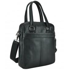 Мужская кожаная сумка через плечо с длинными кожаными ручками Tiding Bag 8051A - Royalbag