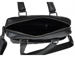 Мужская кожаная сумка через плечо с длинными кожаными ручками Tiding Bag 8051A