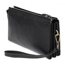 Клатч мужской черный Tiding Bag 8071A - Royalbag