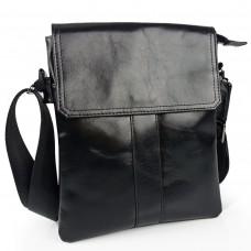 Мессенджер через плечо черный Tiding Bag 8678A - Royalbag