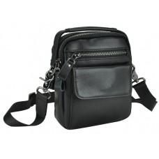 Барсетка мужская кожаная через плечо Tiding Bag 8852A - Royalbag