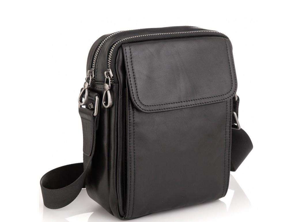 Сумка через плечо мужская кожаная Tiding Bag 8912A - Royalbag
