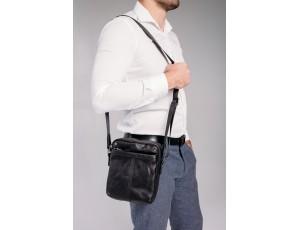 Сумка-месенджер чоловіча шкіряна Tiding Bag 8915A - Royalbag
