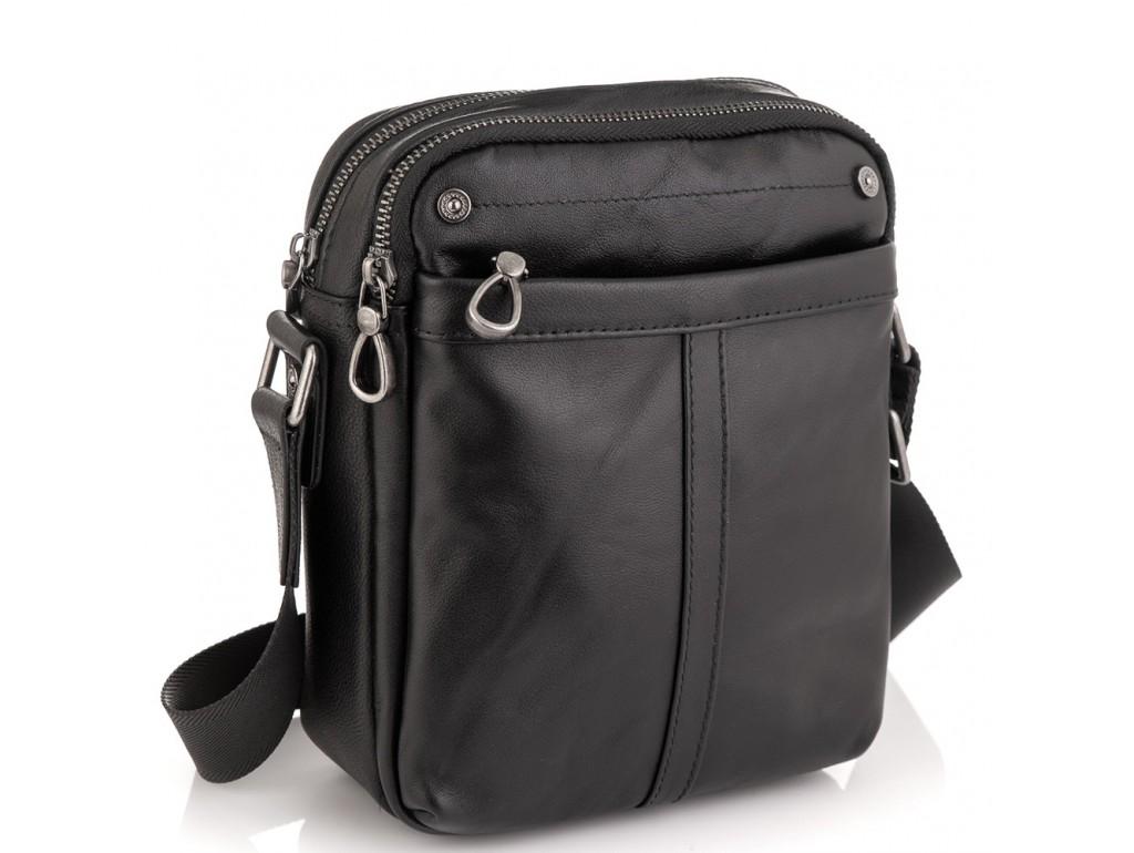 Сумка-мессенджер мужская кожаная Tiding Bag 8915A - Royalbag Фото 1