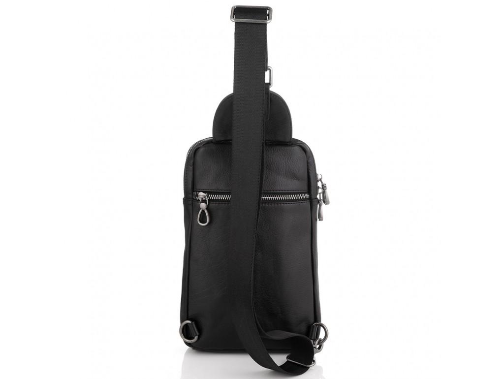 Сумка-слинг мужская кожаная Tiding Bag 9801A - Royalbag