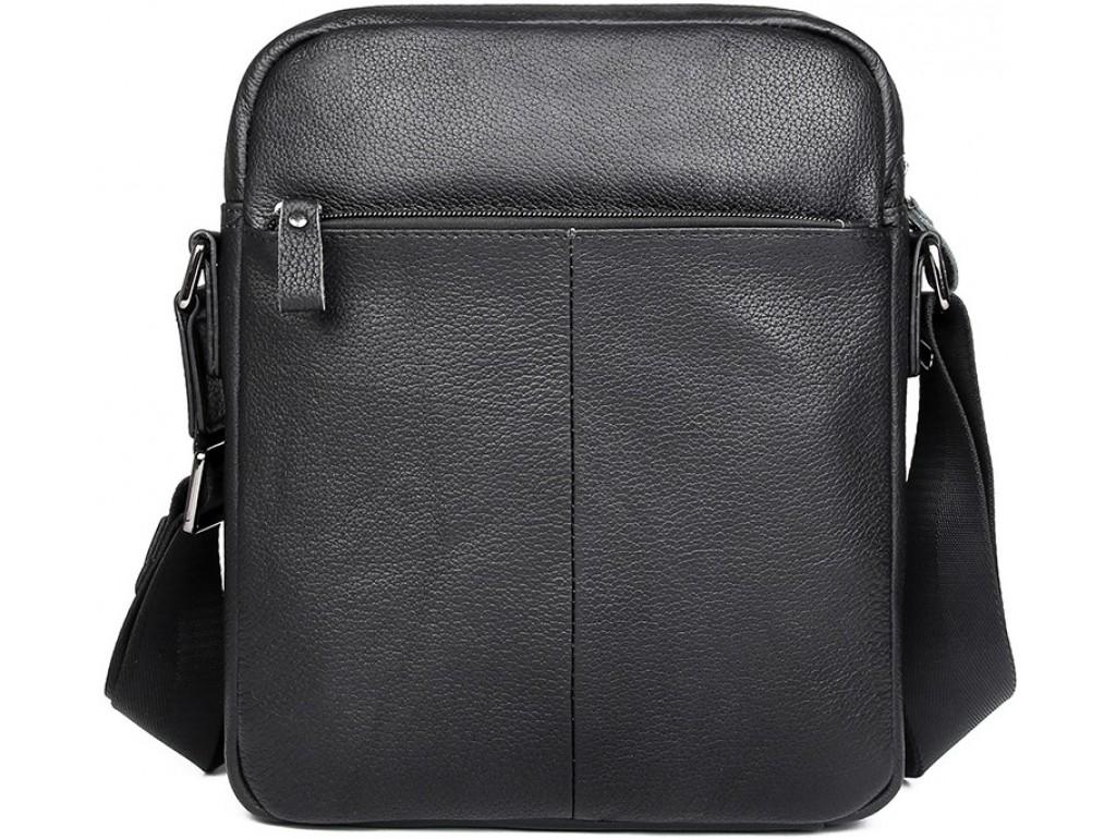 Мужская сумка через плечо с карманами натуральная кожа Tiding Bag 9812-1A - Royalbag