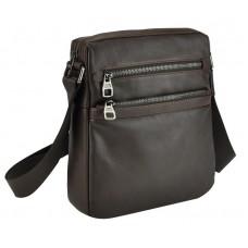 Сумка-месенджер через плече чоловіча з натуральної шкіри Tiding Bag 9830C - Royalbag