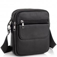 Мужская кожаная сумка через плечо маленькая Tiding Bag A25-1108A - Royalbag Фото 2