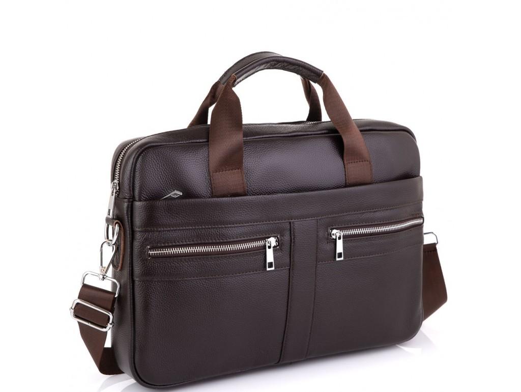 Кожаная сумка для ноутбука Tiding Bag A25-1120C - Royalbag Фото 1