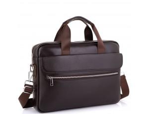 Сумка для ноутбука шкіряна чоловіча Tiding Bag A25-1127C - Royalbag