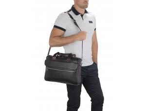 Сумка для ноутбука кожаная мужская Tiding Bag A25-1127C - Royalbag