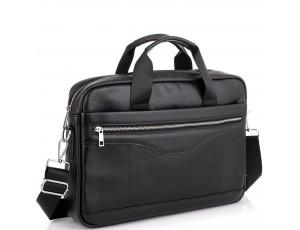 Чоловіча шкіряна ділова сумка для ноутбука Tiding Bag A25-1128-1A - Royalbag