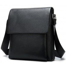 Мужская качественная кожаная сумка через плечо Tiding Bag A25-1278A