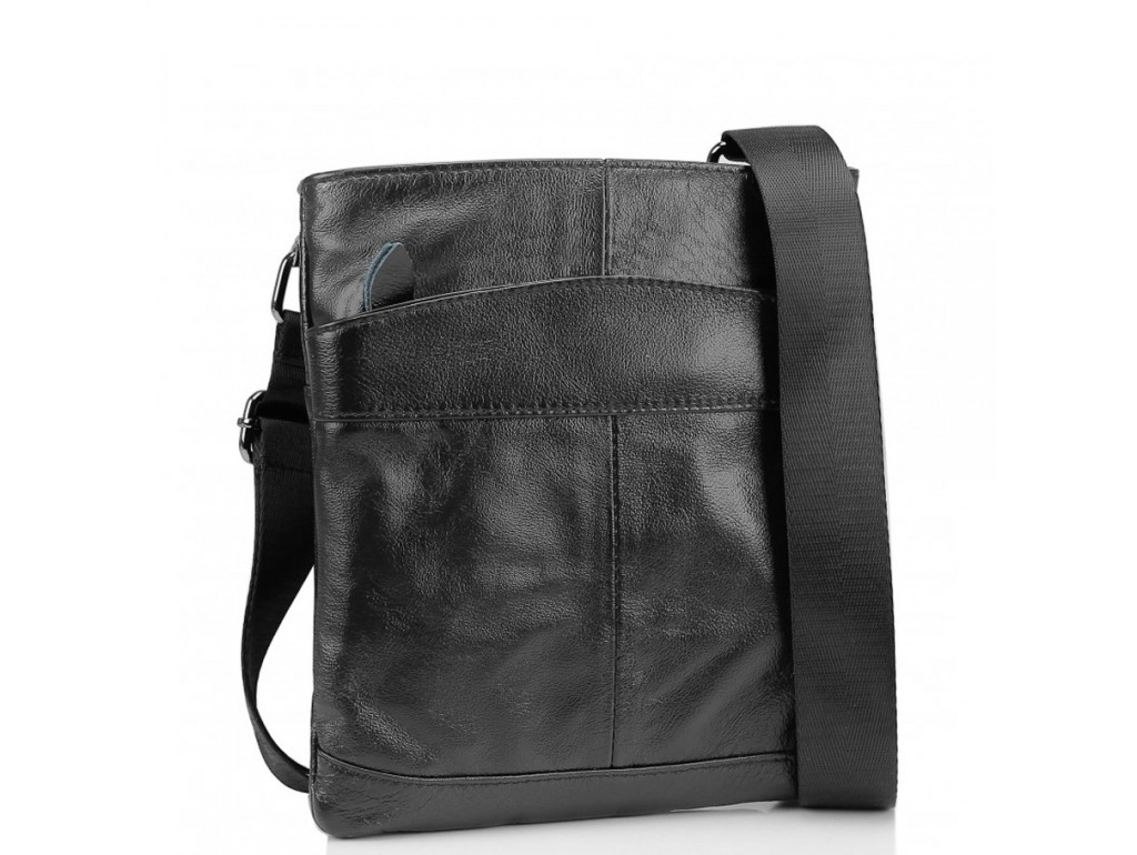 Сумка на плечо мужская кожаная Tiding Bag M35-703A - Royalbag Фото 1