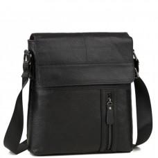 Мужская кожаная сумка через плечо Tiding Bag M38-1713A - Royalbag Фото 2