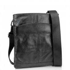 Сумка на плечо мужская кожаная Tiding Bag M35-703A - Royalbag Фото 2
