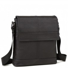 Наплечная мужская сумка кожаная с клапаном Tiding Bag M38-3822A - Royalbag Фото 2