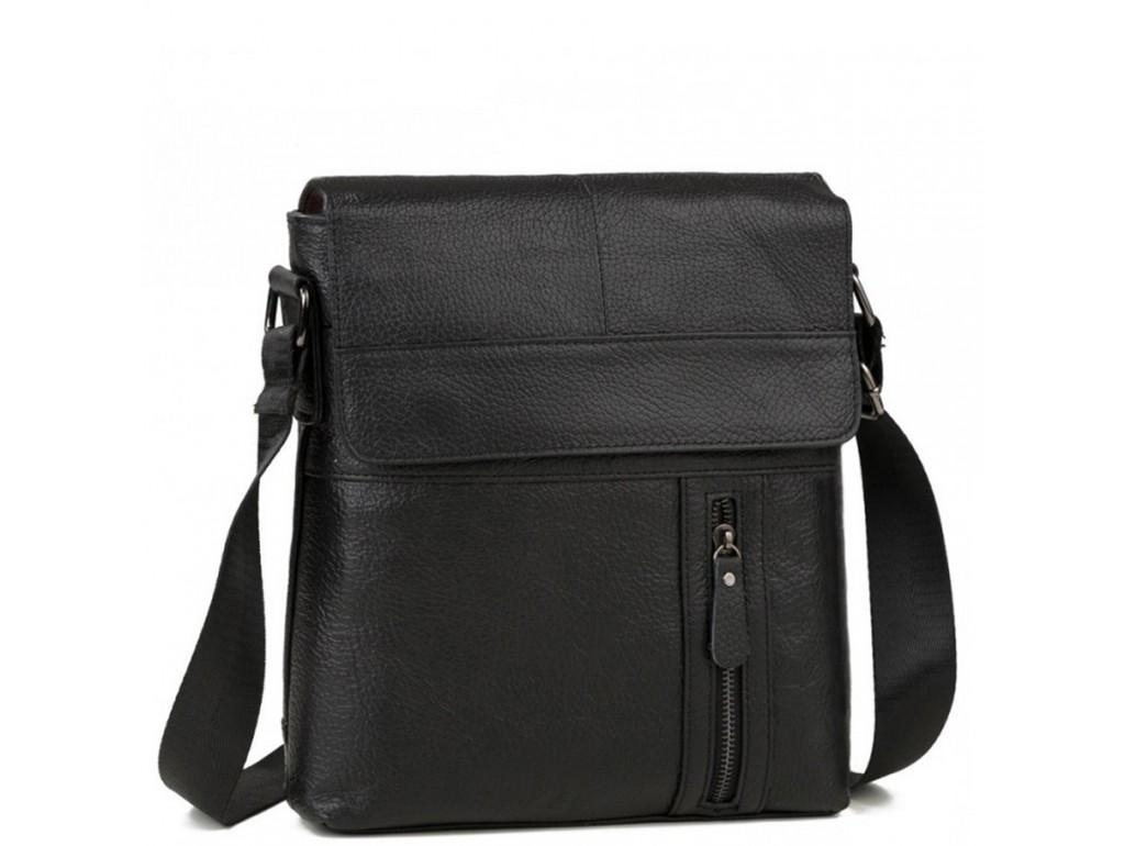 Мужская кожаная сумка через плечо Tiding Bag M38-1713A - Royalbag Фото 1