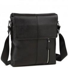 Мессенджер черный через плечо Tiding Bag A25-238A - Royalbag Фото 2