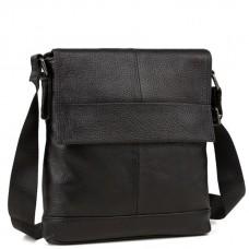 Мужская сумка через плечо натуральная кожа Tiding Bag M38-8136A - Royalbag Фото 2