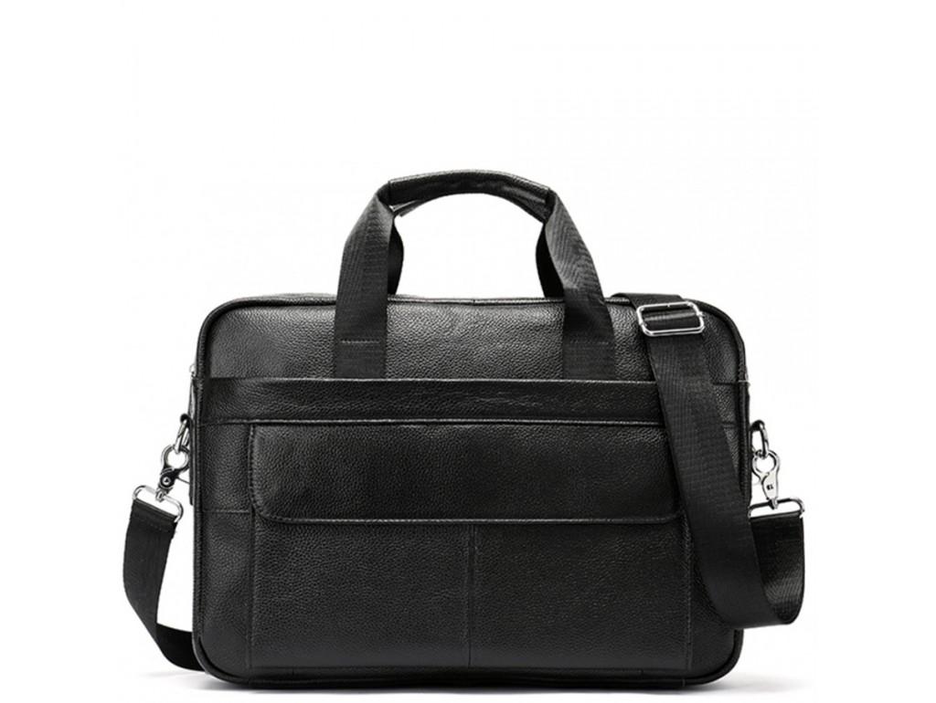 Деловая сумка мужская кожаная для документов и ноутбука Bexhill Bx1131A-1 - Royalbag Фото 1