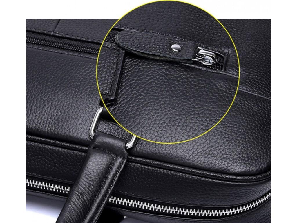 Сумка-портфель мужская кожаная деловая Tiding Bag A25-9904A - Royalbag