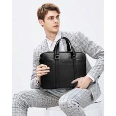 Сумка-портфель мужская кожаная деловая Tiding Bag A25-9904A