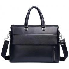 Сумка-портфель мужская кожаная Tiding Bag A25F-17614A - Royalbag