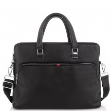 Черная сумка для ноутбука мужская Tiding Bag A25F-17621A - Royalbag