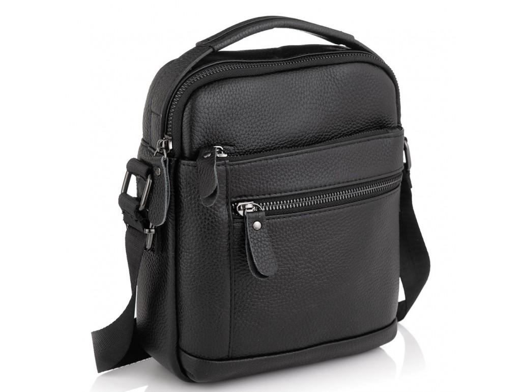 Мужская кожаная сумка мессенджер Tiding Bag A25F-2217A - Royalbag Фото 1