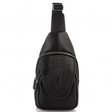 Мужской слинг на одно плечо фактурный Tiding Bag A25F-6688A - Royalbag